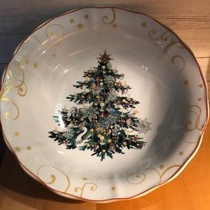 Williams Sonoma 2012 Christmas Tree bowl
